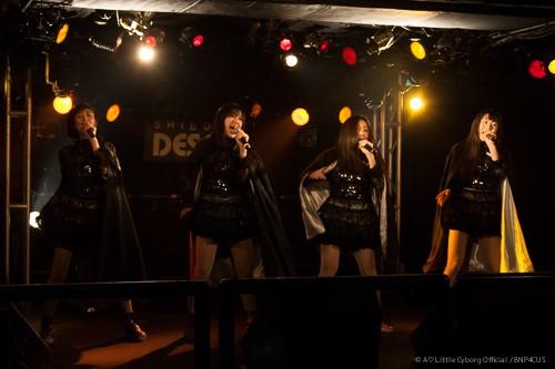 【ALC】あ・りとるさいぼうぐ、相楽咲花、藤野莉子、三浦由加莉、奥井亜実、ライブの模様@DESEO