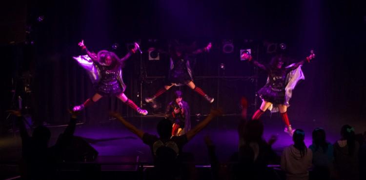 ALC Live@Club Asia. 相楽咲花、三浦由加莉、藤野莉子、奥井亜実