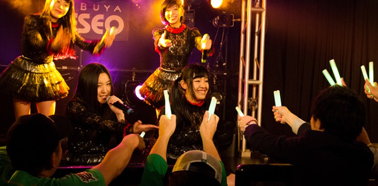 """2015.01.15 Live&藤野莉子生誕イベント""""GIRLS STARGATE NEXT Vol.10""""@DESEO"""